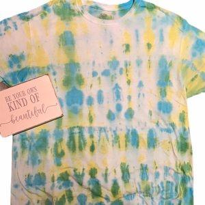Tie Dye Shirt Lemon Lime